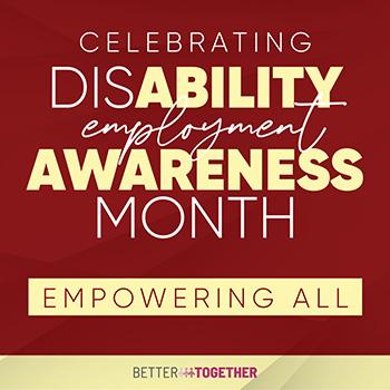 Disability Employment Awareness Month