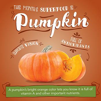 Superfood: Pumpkin 2018