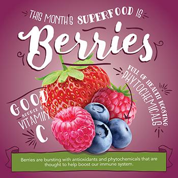 Superfood: Berries 2019